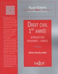 Droit civil 1e année - Introduction, Personnes, Famille.pdf