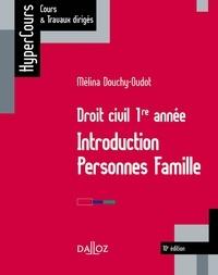 Téléchargement gratuit d'ebook isbn Droit civil 1re année  - Introduction, personnes, famille par Mélina Douchy-Oudot (French Edition) 9782247189182 PDF