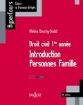 Mélina Douchy-Oudot - Droit civil 1re année. Introduction Personnes Famille - 10e éd..
