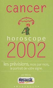 Blackclover.fr Cancer. Horoscope 2002 Image