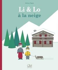 Melissa Pigois - Li & Lo à la neige.