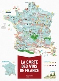 Mélody Denturck - La carte des vins de France.