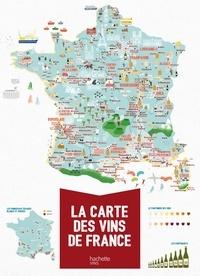 La carte des vins de France - Mélody Denturck |
