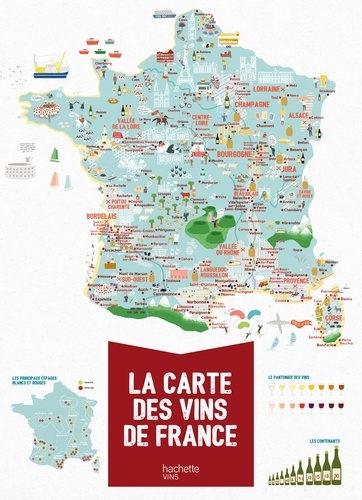 Carte Des Vins De France