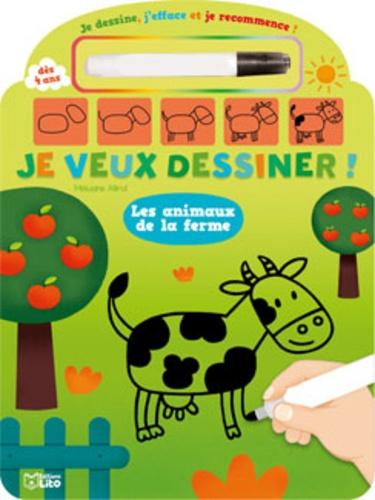 Mélusine Allirol - Les animaux de la ferme.