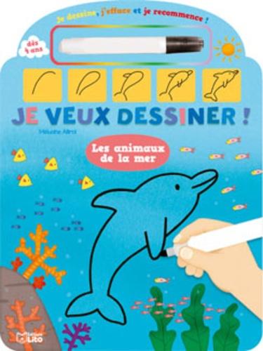 Mélusine Allirol - Les animaux de la mer.