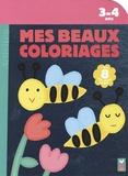 Mélusine Allirol et Marion Piffaretti - Mes beaux coloriages - 3-4 ans.