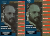 Melvil Dewey - Classification décimale Dewey et Index - 2 volumes.