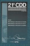 Melvil Dewey - Classification décimale Dewey et index - 4 volumes.