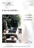Pierre Coulet - L'eau en Ardèche... ses usages, ses enjeux, ses contraintes.