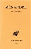 Jean-Marie Jacques et  Ménandre - Oeuvres - Tome 1, 1e partie, La samienne.