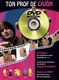 Menasse roux - - Ton prof de cajon + dvd.