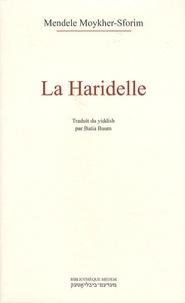 Mendele Moykher-Sforim - La Haridelle ou Détresse des animaux.
