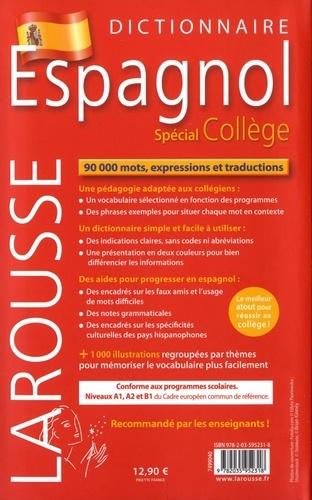 Dictionnaire français-espagnol et espagnol-français. Spécial collège