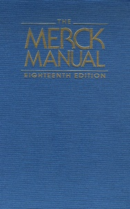 Merck - The Merck Manual.