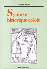 Mervyn-C Alleyne - Syntaxe historique créole.