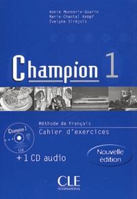 Histoiresdenlire.be Méthode de français Champion 1. Cahier d'exercices + CD Audio Image
