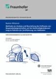 Methode zur Analyse und Beurteilung des Einflusses von Bauprodukteigenschaften auf die Nachhaltigkeitsbewertung im Rahmen der Zertifizierung von Gebäuden.