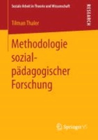 Methodologie sozialpädagogischer Forschung.