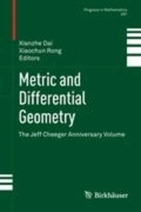 Metric and Differential Geometry - The Jeff Cheeger Anniversary Volume.