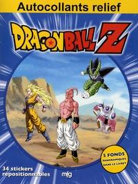 MFG Education - Dragon Ball Z - Autocollants relief.
