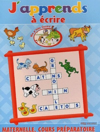 MFG Education - J'apprends à écrire Maternelle/CP.