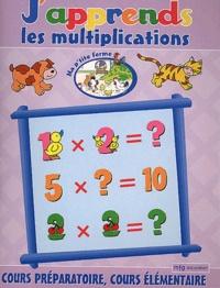 MFG Education - J'apprends les multiplications CP/CE.