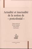 """Micéala Symington et Joanny Moulin - Actualité et inactualité de la notion de """"postcolonial""""."""