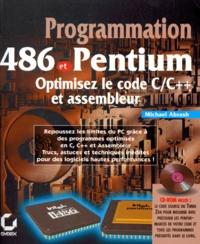 Deedr.fr PROGRAMMATION 486 ET PENTIUM. Optimisez le code C/C++ et assembleur, avec CD-Rom Image
