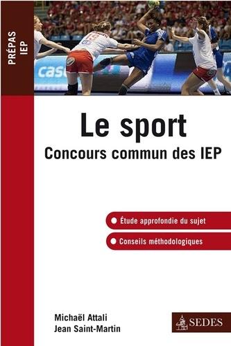 Le sport. Concours commun des IEP
