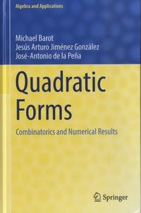 Michael Barot et Jesús Arturo Jiménez González - Quadratic Forms - Combinatorics and Numerical Results.