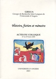 Michaël Bentler et Benaouda Lebdai - Histoire, fiction et mémoire - Actes du colloque, 27 au 29 mars 2003.