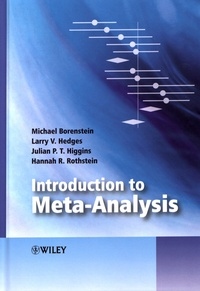 Michael Borenstein et Larry Hedges - Introduction to Meta-Analysis.