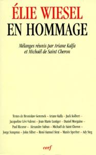 Galabria.be Elie Wiesel en hommage Image