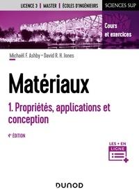 Michael F. Ashby et David R.H. Jones - Matériaux - Tome 1,  Propriétés, applications et conception.