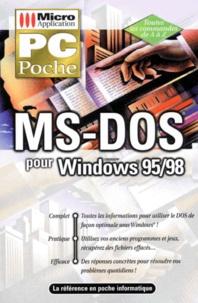 Michael Freihof et Ingrid Kürten - MS-DOS Windows 95-98 - Microsoft.