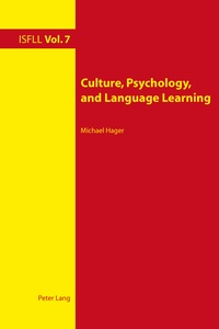 Michael Hager - Culture, Psychology, and Language Learning.