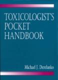Michael-J Derelanko - Toxicologist's pocket handbook.
