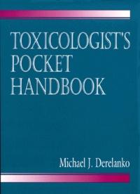 Deedr.fr Toxicologist's pocket handbook Image