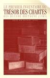 Michael Jones - Le premier inventaire du Trésor des chartes des ducs de Bretagne (1395) - Hervé Le Grant et les origines du Chronicon Briocense.