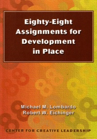 Michael M Lombardo - Eighty-Eight Assignments for Development in Place.