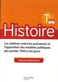 Michaël Navarro et Henri Simonneau - Histoire Tle - Livre du professeur.