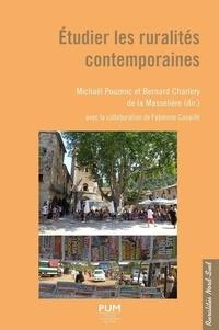 Michaël Pouzenc et Bernard Charlery de la Masselière - Etudier les ruralités contemporaines.