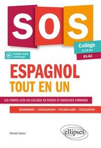 Espagnol tout en un- Collège 11-15 ans A1-A2 - Michaël Salaün |