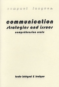 Michael Shea - Communication - strategies and issues - Compréhension orale.