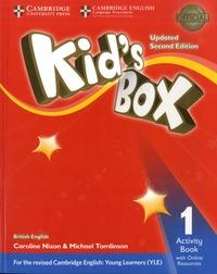 Michael Tomlinson et Caroline Nixon - Kid's Box 1 - Activity Book with Online Resources.
