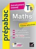 Michel Abadie et Jacques Delfaud - Maths Tle S (spécifique & spécialité) - Prépabac Entraînement intensif - objectif filières sélectives - Terminale S.