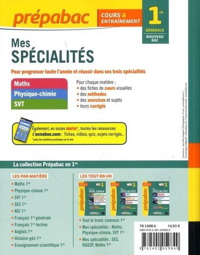 Mes spécialités 1re générale  Edition 2020