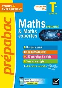 Michel Abadie et Jacques Delfaud - Prépabac Maths (spécialité) & Maths expertes (option) Tle générale - Bac 2022 - nouveau programme de Terminale.