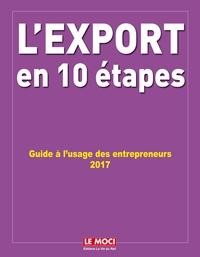 L'export en 10 étapes- Guide à l'usage des entrepreneurs - Michel Abgrall-Lévy |